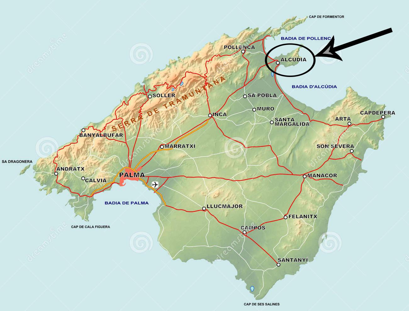 breakers resort map with Majorca Mallorca on Villa Birdcage likewise Waikikimap besides Wet N Wild Water World furthermore Captains Walk Villas Rentals also Area Map.